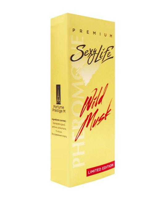 Духи женские серии Wild Musk, № 7( Honey Aoud e) 10 мл