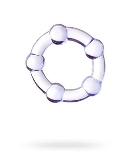 Эрекционное кольцо на пенис Штучки-дрючки  , TPR, Фиолетовое, Ø2,5 см