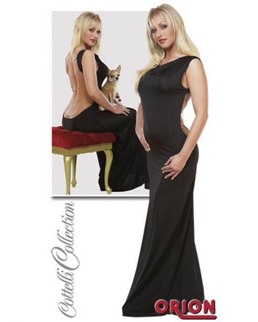 4-2710498-1030 Платье с открытой спиной и цепочками черное-M арт. 2710498-1030.jpg
