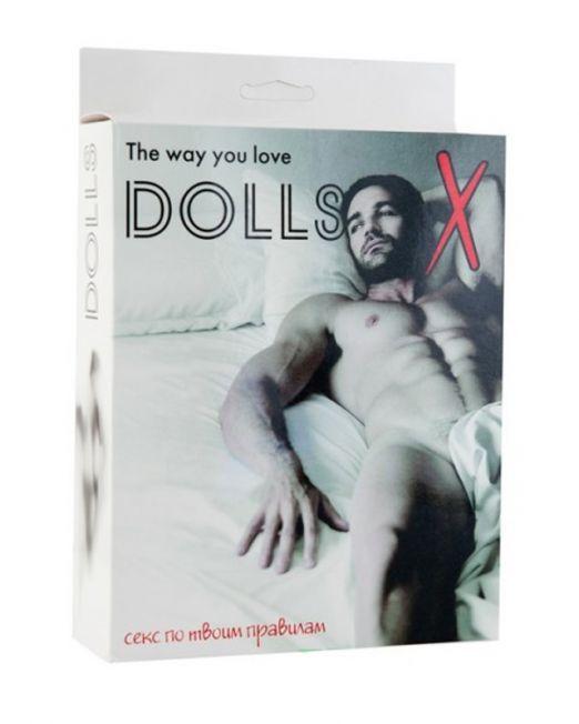 Кукла надувная, мужчина, TOYFA Dolls-X, в полный рост, 160 см