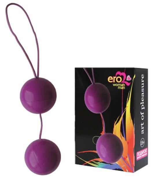 EE-10097V ШАРИКИ ВАГИНАЛЬНЫЕ BALLS цвет фиолетовый D 35mm арт. EE-10097V.jpg