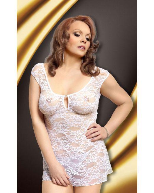 17-173924 Ночная сорочка белая-XL арт. 173924.jpg