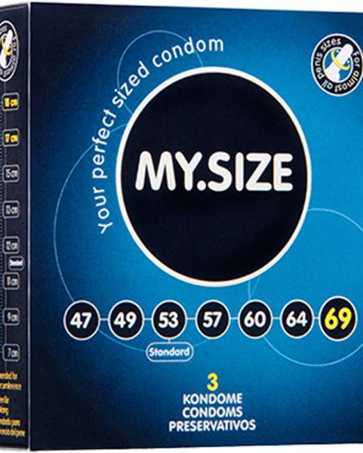 124-129 Презервативы  ''MY.SIZE'' №3 размер 69 (ширина 69mm) арт. 129.jpg