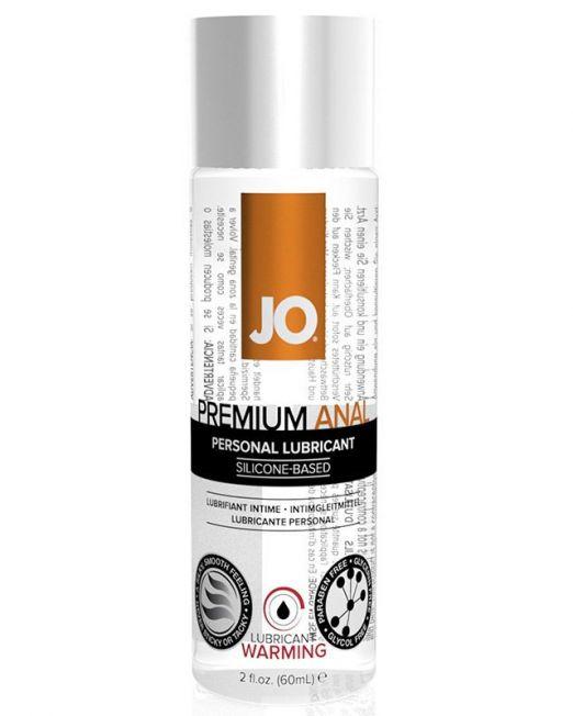 Анальный возбуждающий лубрикант на силиконовой основе JO Anal Premium Warming, 60 мл