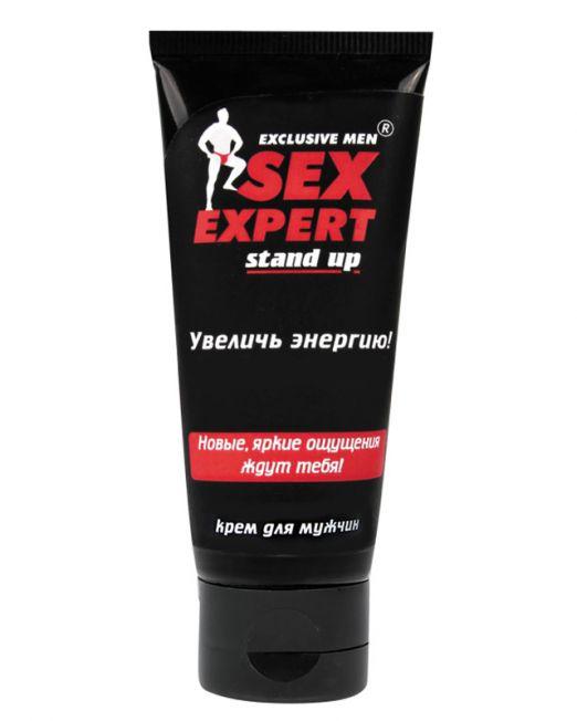 """КРЕМ """"STAND UP"""" для мужчин серии """"Sex Expert"""" 40 г арт. LB-55146"""