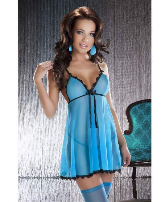 Платье Livia, голубое, L/XL