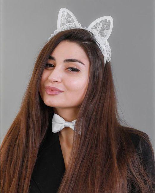 """Карнавальный костюм """"Доведи меня до сарказма"""", ободок-ушки, бабочка, термопринт"""