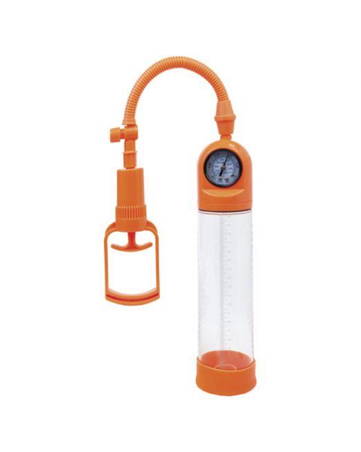 Помпа вакуумная A-toys, оранжевый/голубой/черный, 20 см