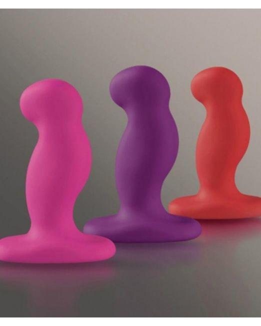 Nexus G-play Набор массажеров простаты, с вибрацией 3 цвета