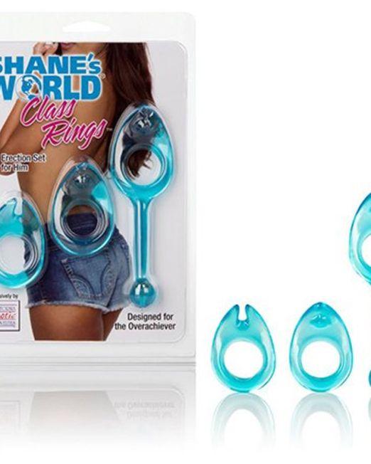 набор колец Shane's World® Class Rings - Blue