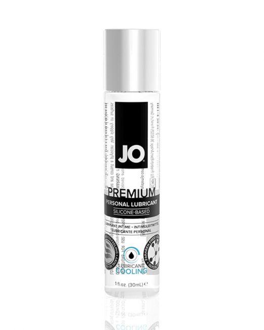 Лубрикант классический охлаждающий  на силиконовой основе JO Premium COOL, 30 мл