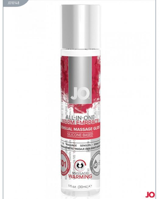 JO10148 Гель-смазка универсальная на силиконовой основе с согревающим эффектом JO All-In-One Massage