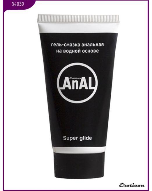 Гель-смазка анальная AnAL Super Glide, туба, 50 мл