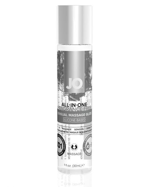 Массажный гель-лубрикант All-In-One Massage Glide Fragrance Free без запаха - 30 мл.