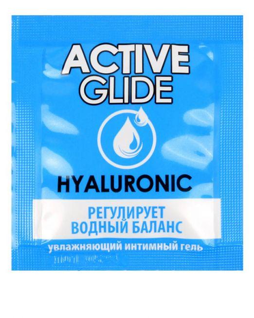 Увлажняющий интимный гель ACTIVE GLIDE HYALURONIC, 3 г арт. LB-29005t