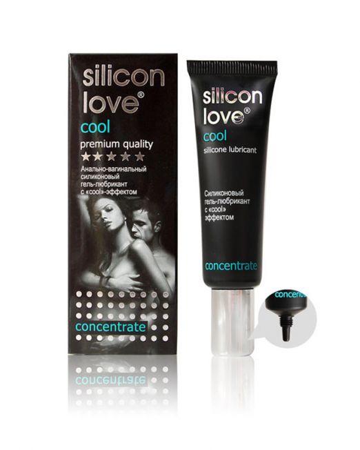 Гель-любрикант SILICON LOVE COOL 30г, силиконовый с cool эффектом  арт. LB-21003